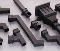 65mm Cast Square Downpipes