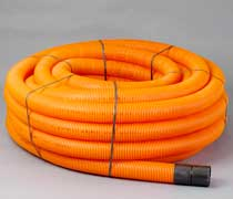 Orange Traffic Light Ducting