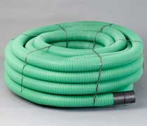 Green CCTV Ducting