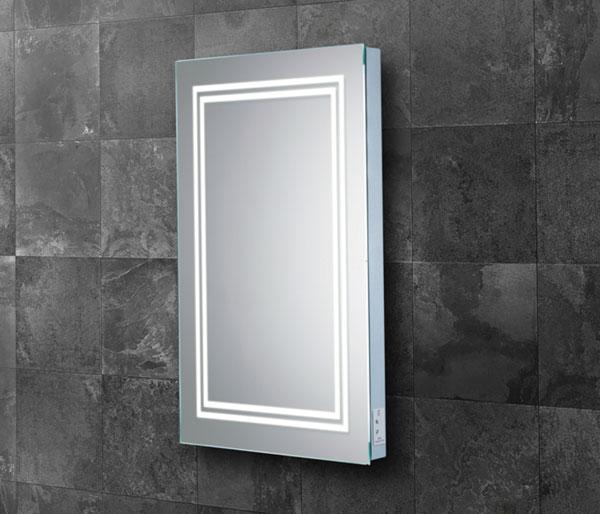 Mirrors with Shaving Sockets