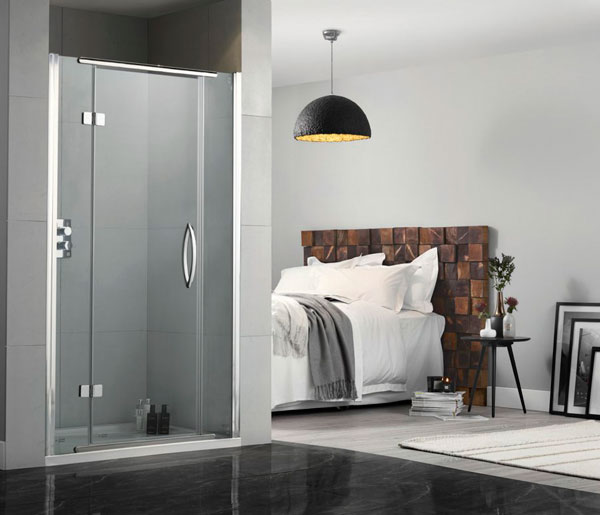Inline Hinged Shower Doors