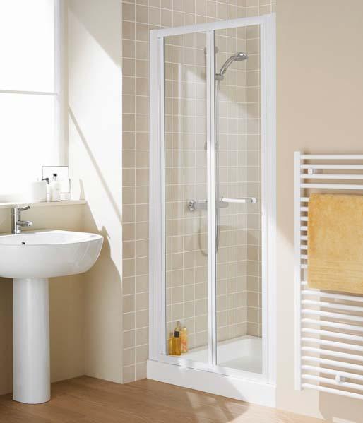 Lakes Classic Bifold Shower Doors & Enclosures