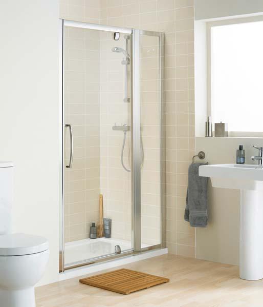 Pivot In-Line Pivot Shower Doors & Enclosures