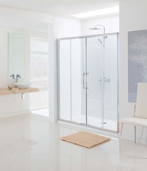 Double Sliding Shower Doors & Enclosures