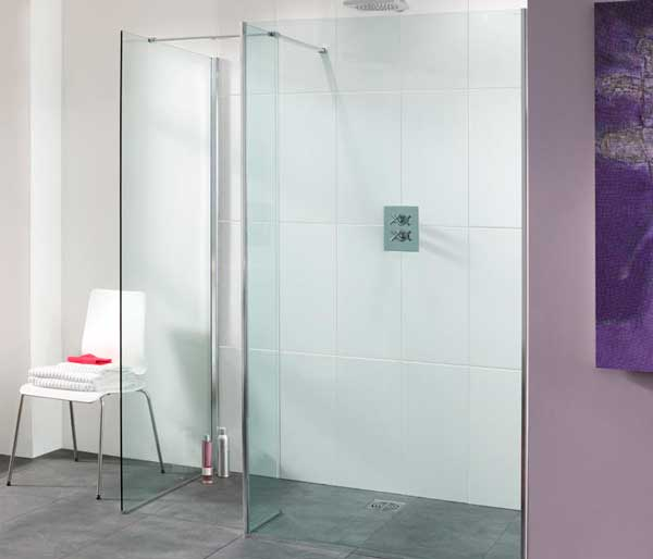 Frameless Walk-In Showers