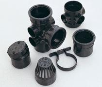 Black 110mm Downpipe