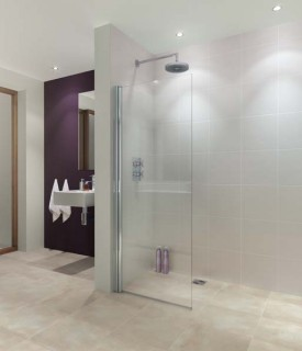 Allasio Hinged Wetroom Panel