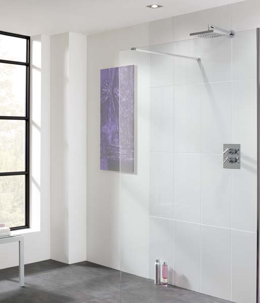 Easy Access Shower Glass