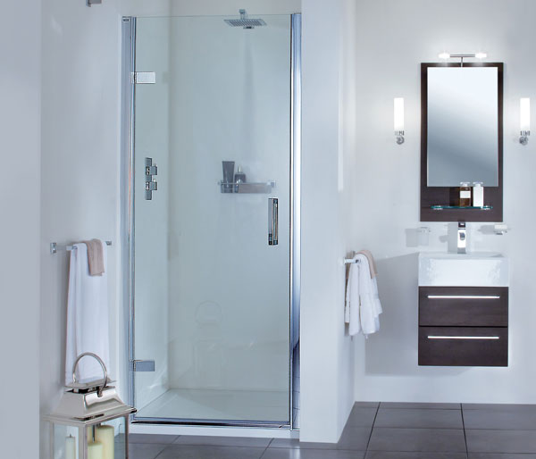 SP455 Hinged Shower Door