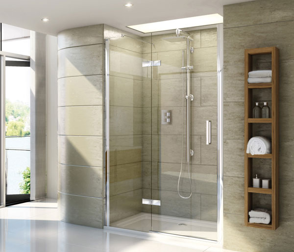 SP459 Hinged Door & Inline Shower Door
