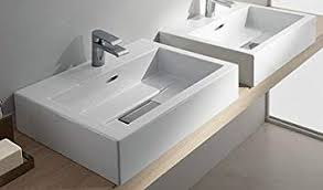 80CM COUNTER TOP OR WALL MOUNTED BASIN 1TH