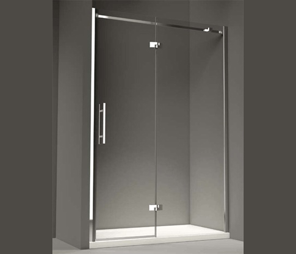 Merylyn Vivid Nine Hinged Shower Door 1000mm