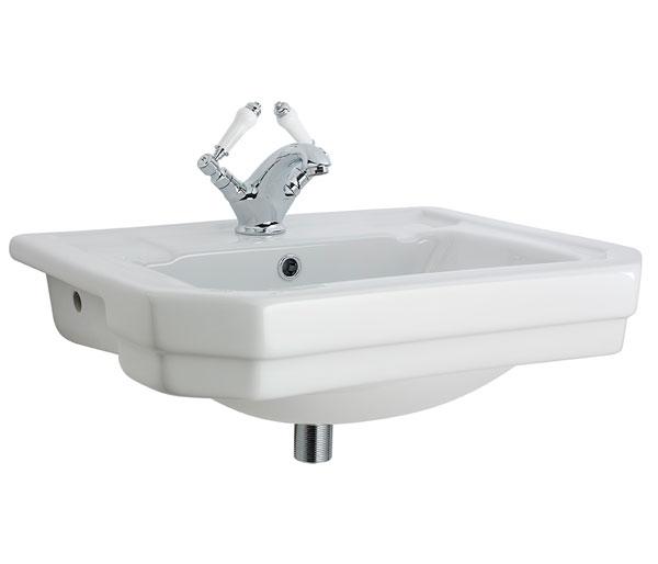 Dunbar Semi Recessed Basin 550x450mm