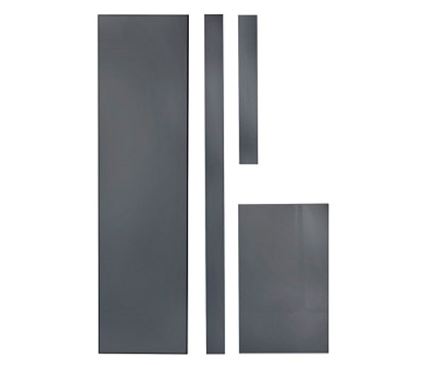 Lomond Bath Front Panel 1800mm Anthracite