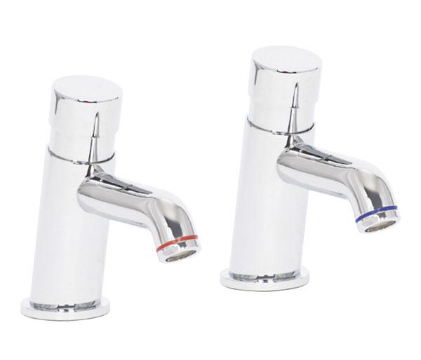 Designer Non-Concussive Basin Taps