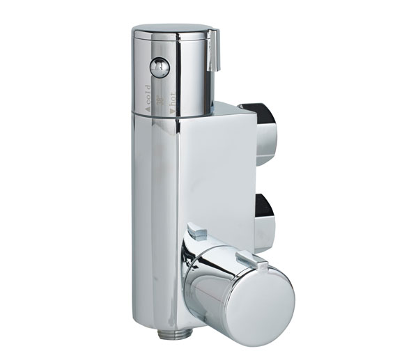 Compact Vertical Thermostatic Mixing Valve