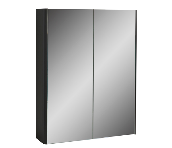 Fife Two Door Mirror Wall Unit 600mm