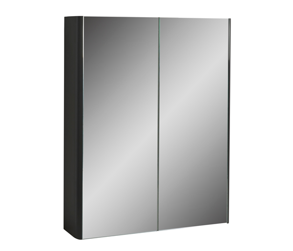Fife Two Door Mirror Wall Unit 800mm