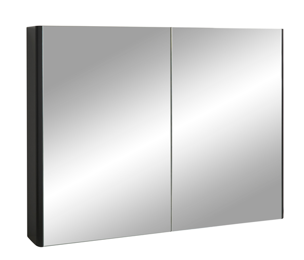 Fife Two Door Mirror Wall Unit 1000mm