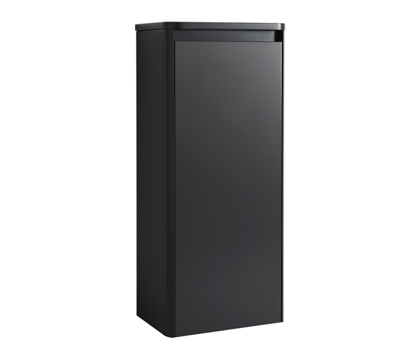 Fife Tall Storage Unit 350x600mm Black