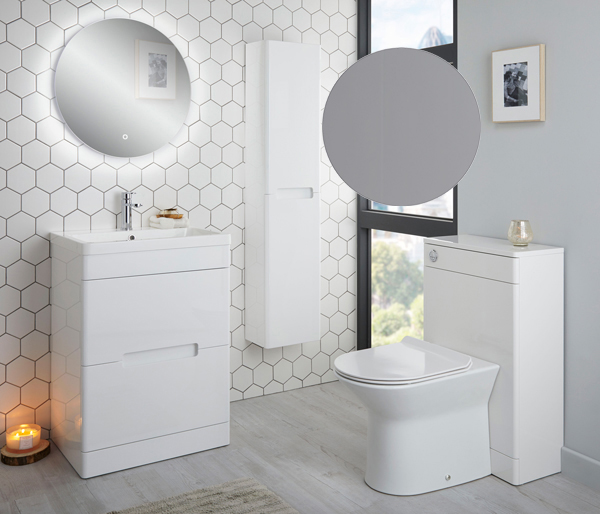 Selkirk Vanity Unit 500x445mm Matt Grey