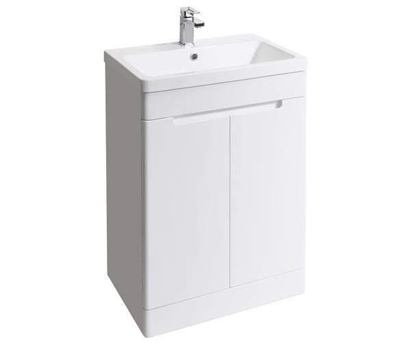 Selkirk Vanity Unit 500x445mm Gloss White