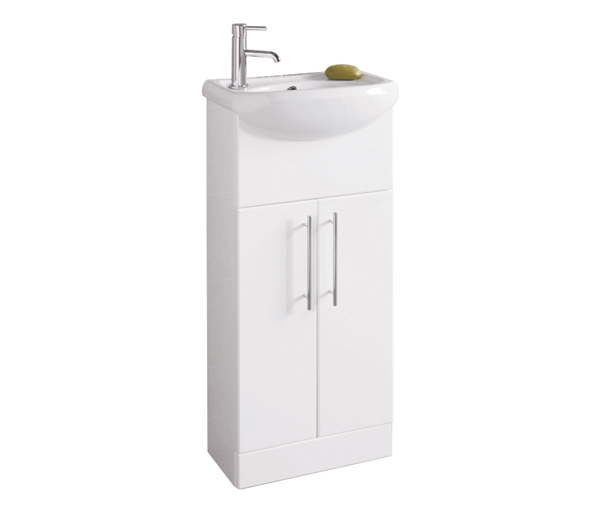 Turnberry Vanity Unit 400x295mm Gloss White