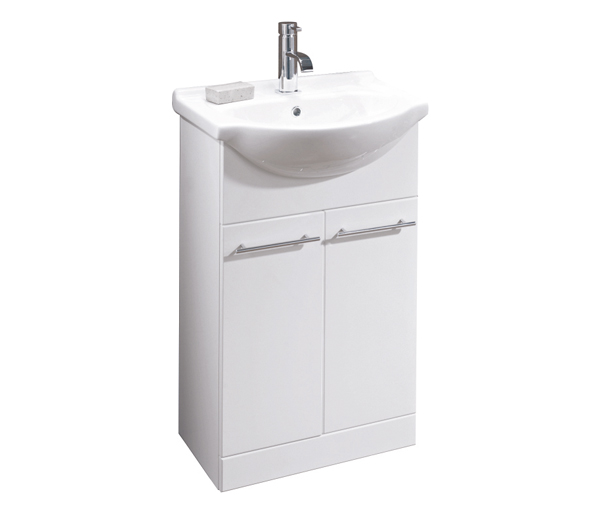 Turnberry Vanity Unit 550x430mm Gloss White