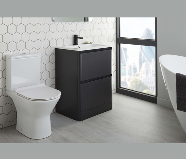 Ellon Close Coupled Toilet + Seat