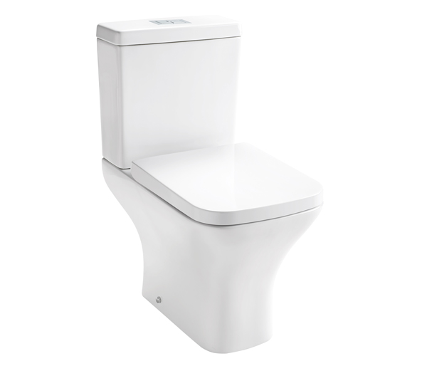 Leven Close Coupled Toilet + Seat
