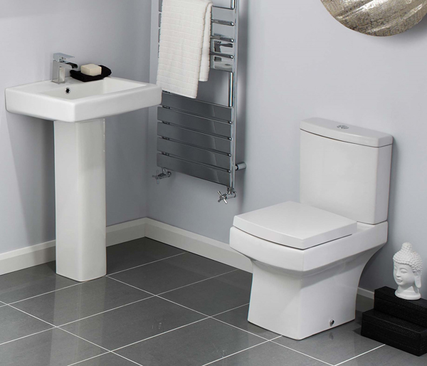 Skye Close Coupled Toilet + Seat