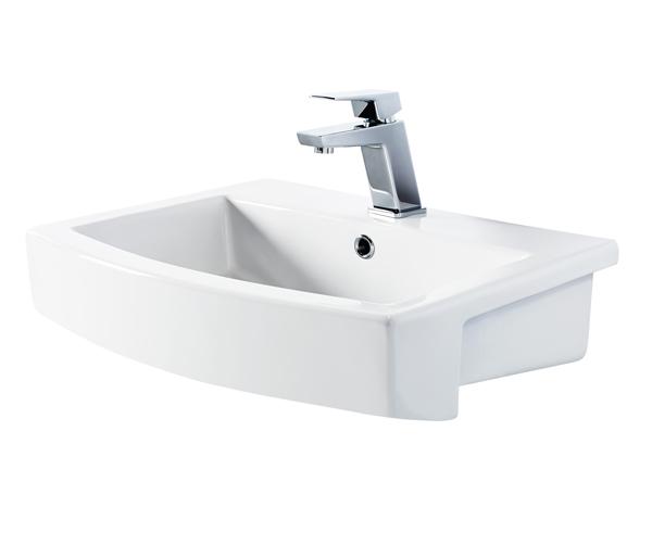 Skye Semi Recessed Basin 570x460mm