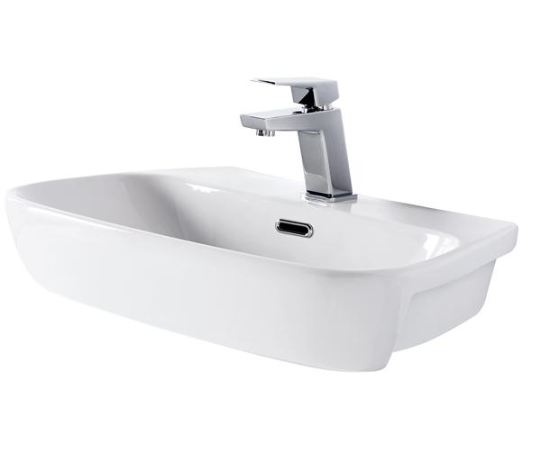 Lomond Semi Recessed Basin 610x415mm