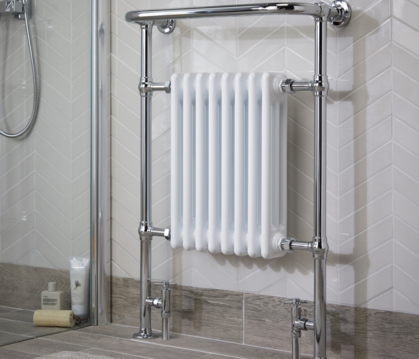Dunbar Radiator 675x965mm White/Chrome