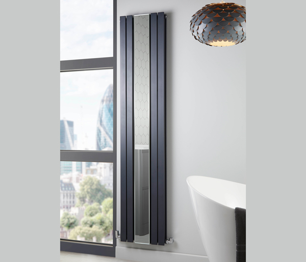 Appin Vertocal Radiator 380x1800mm Anthracite