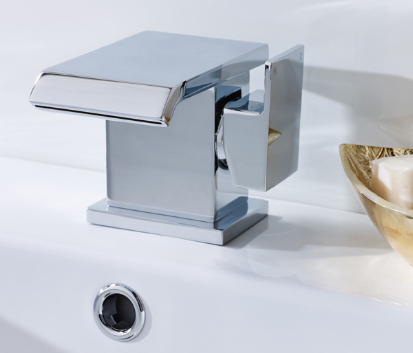 Moray Mono Basin Mixer Tap + Waste