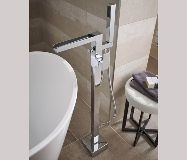 Balfron Floor Standing Bath Shower Mixer