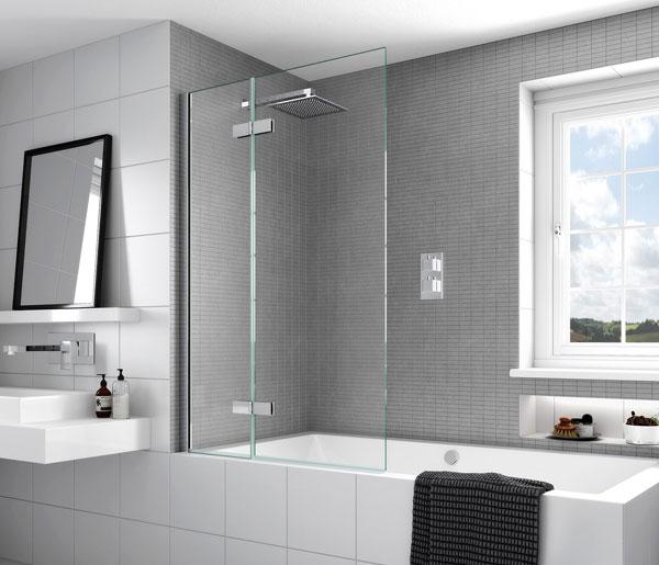 Aqata SP485 Outward Opening Bath Screen LHF