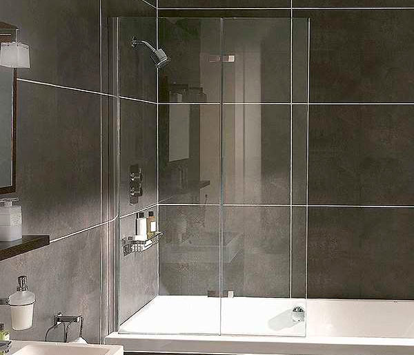 Aqata SP490 Inward Opening Bath Screen LHF