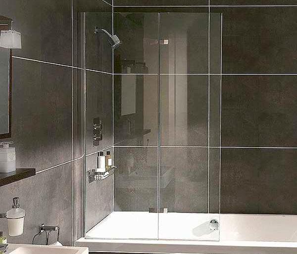 Aqata SP490 Inward Opening Bath Screen LHF