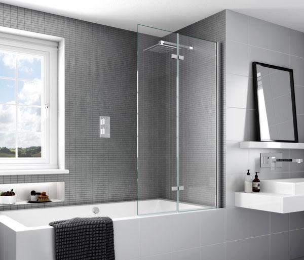 Aqata SP491 Outward Opening Bath Screen LHF