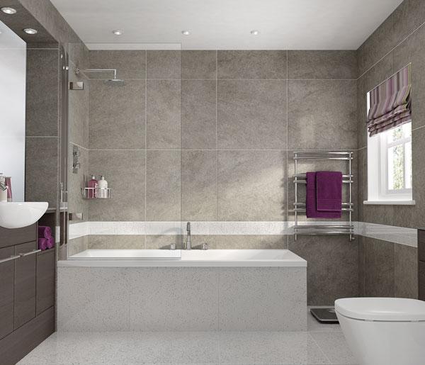 Aqata SP495 Single Panel Bath Screen LHF