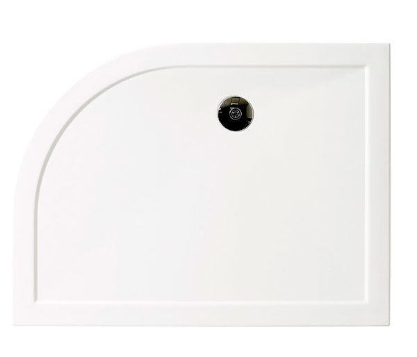 Aqata Dedicated Quadrant Tray 1200x900mm RH
