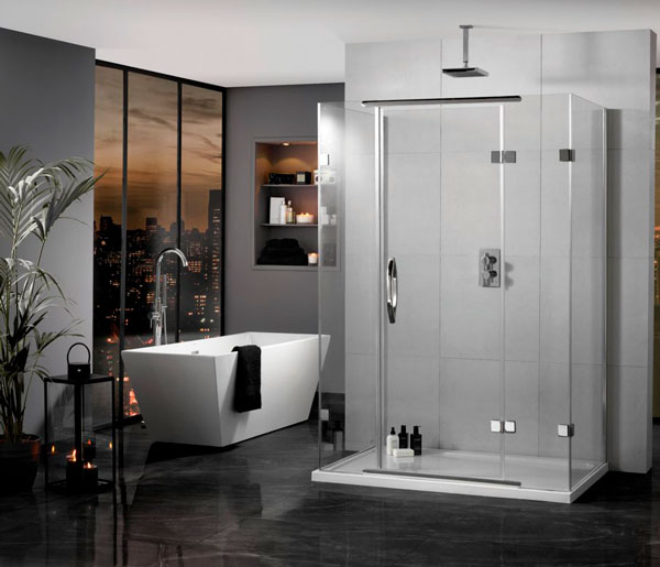 Inline Hinged 900x800 RRP £1267.00 Save 30%