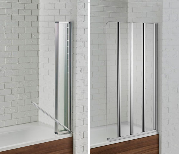 Swiftseal Semi-Framless Bath Screen R/Hand