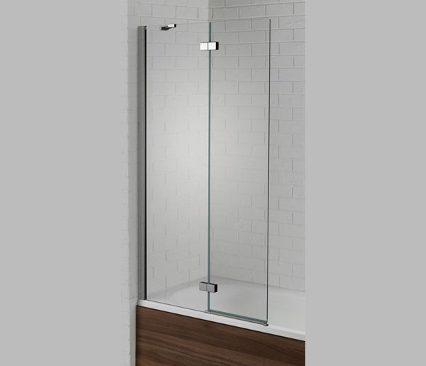 Venturi6 Hinged Bath Screen Left Hand