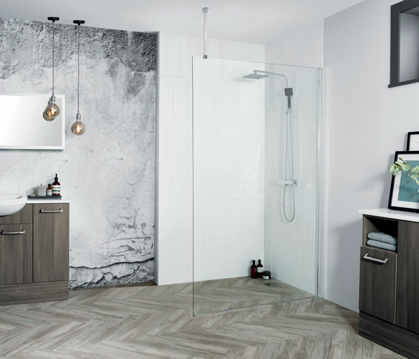 Wetroom 8 Screen 600mm RRP £354.00 SAVE 30%