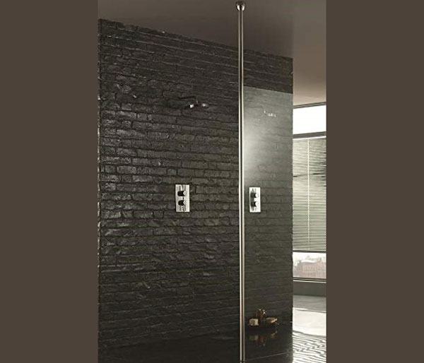 Wetroom8 Floor To Ceiling Post RRP £146.00