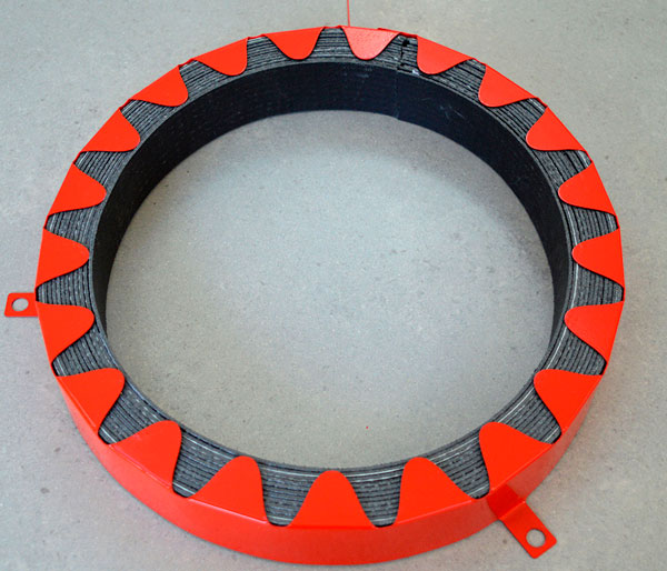 Astroflame Pipe Collar 2 Hour 125mm