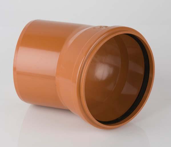 Sewer 400mm Single Socket 30\' Bend